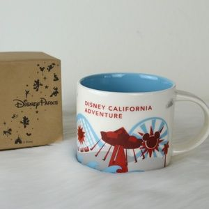 NEW Starbucks Disney California Adventure YAH Mug